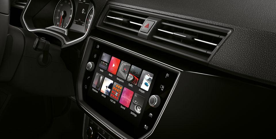 Seat Ibiza interior image