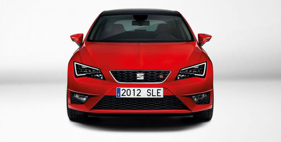 Red Seat Leon car image