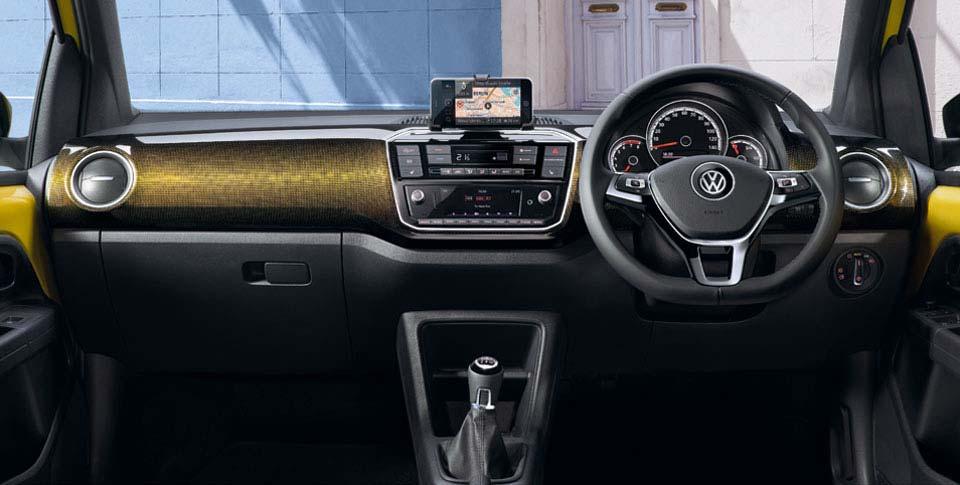 Interior of Up car image