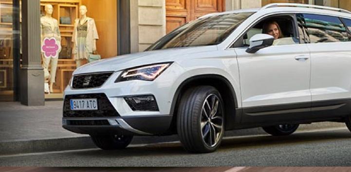 Seat Ateca white car image
