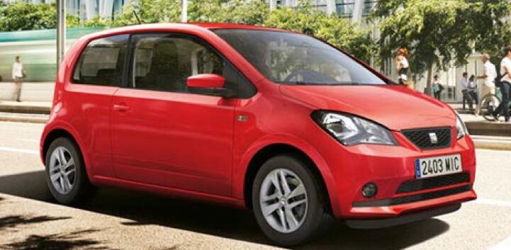 Red Seat Mii car image