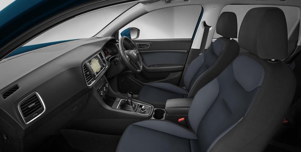 Interior of Seat Ateca car image