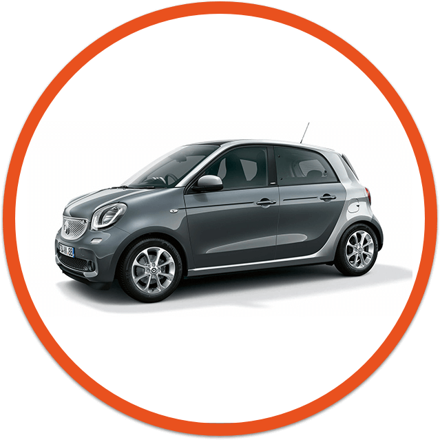 Smart Forfour car image