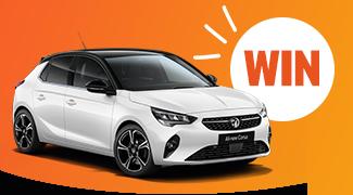 Win a Vauxhall Corsa