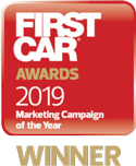 First car award 2019 winner logo