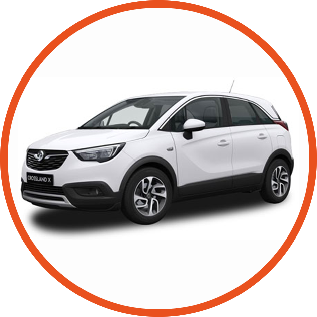 all new crossland x