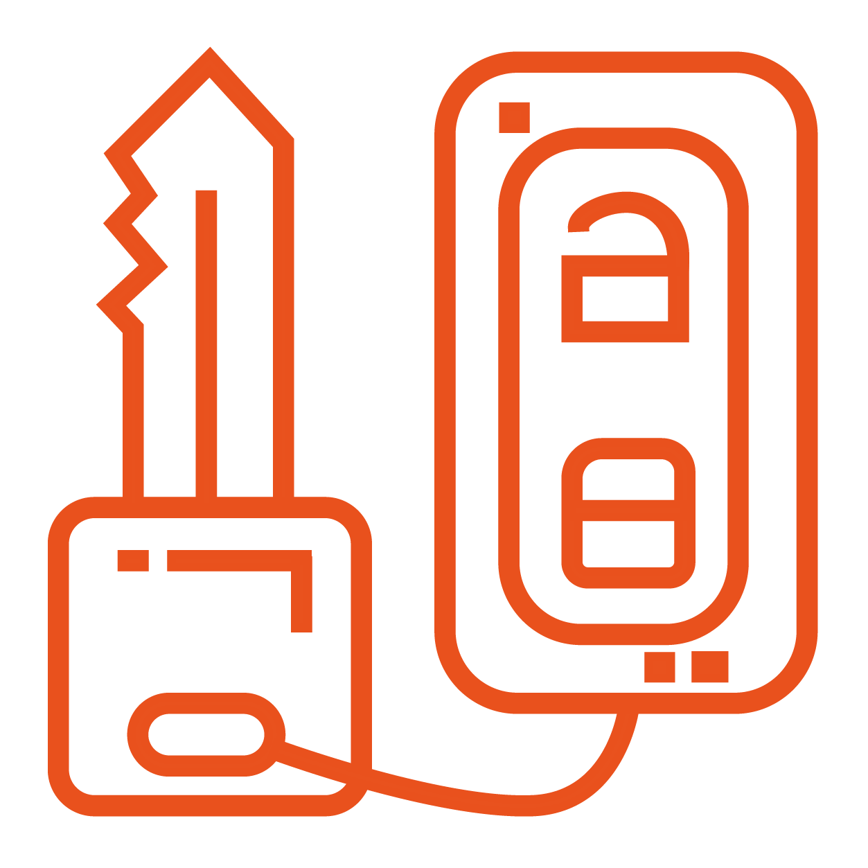 car keys icon