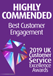 best customer engagement 2019