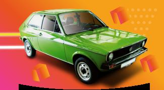 1980s VW polo