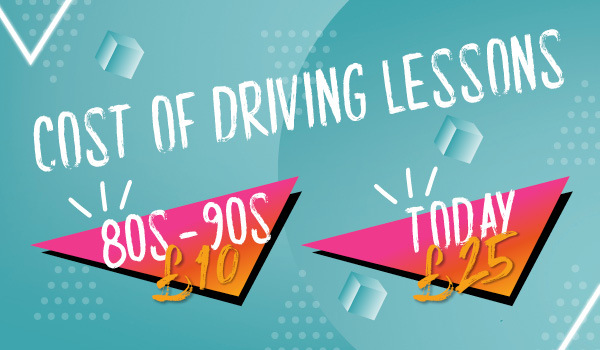 Driving lesson cost changes
