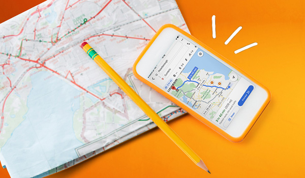 Map and phone app