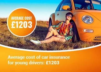 Young Driver Average premium