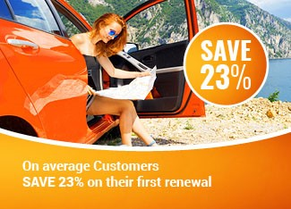 Renewing customers save 23%