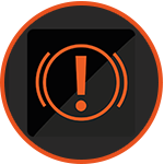 brake fluid icon