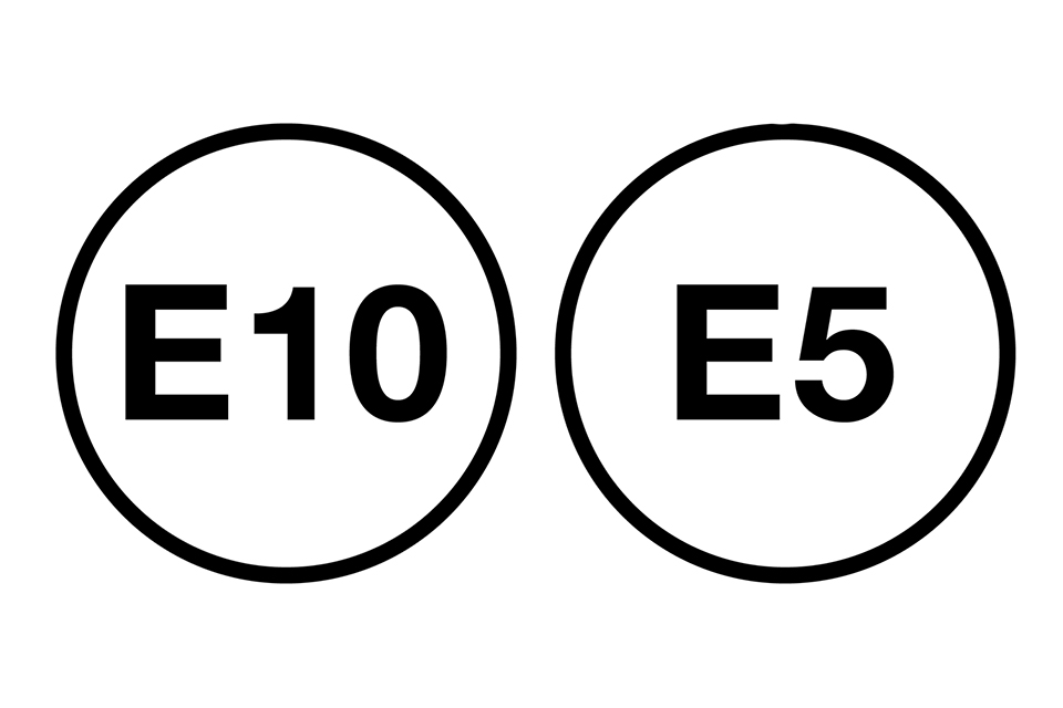 e10 e5 fuel pump symbols